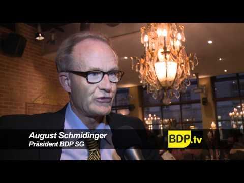 BDP Videonews zu den  Abstimmungen und Wahlen SG, 2012