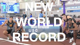 2018 NCAA Indoor Track Championships Men's 4x400m Relay — INDOOR WORLD RECORD