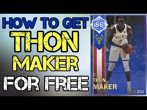 NBA 2K18 MyTEAM  thon maker