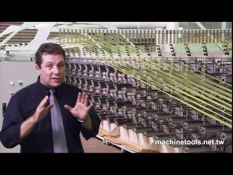 Flat Yarn Making Machine - HD Video Produce By 聖僑資訊 S&J Corp