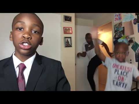 dad interrupted by his KIDS on BBC Live Parody