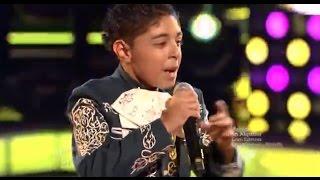 """Brian Torres canta """"Yo no fui"""" en """"La Voz Kids"""""""