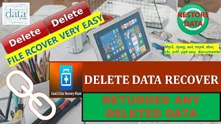 Hard disk data recovery, Extremely easy and safe free file recovery software for PC/laptop/Server.
