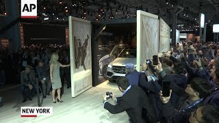 SUVs dominate at New York auto show