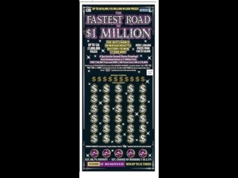$30 -FASTEST ROAD TO $1M - BIG WIN! Massachusetts Lottery Bengal Scratch  Off instant tickets WIN!!