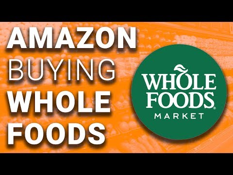 Amazon Buying Whole Foods is a MAJOR Story