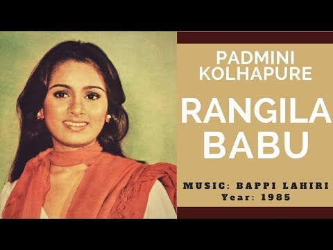 Rangila Babu - Padmini Kolhapure (Female Version - Music: Bappi Lahiri)