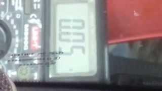 утечка тока ВАЗ Калина 1118(, 2014-04-21T15:39:17.000Z)