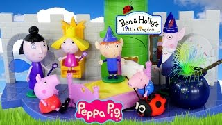 Can Peppa Pig Fly? Ben and Holly's Little Kingdom Thistle Castle and Play Doh Gaston Episodes(Ben & Holly's Little Kingdom Thistle Castle Playset with Peppa Pig George Pig and Play Doh Gaston Ladybug! Magical Ben and Holly Castle Cauldron and ..., 2015-01-21T20:30:03.000Z)