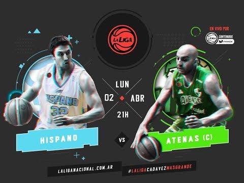 Liga Nacional: Hispano vs. Atenas | #LaLigaEnTyCSports