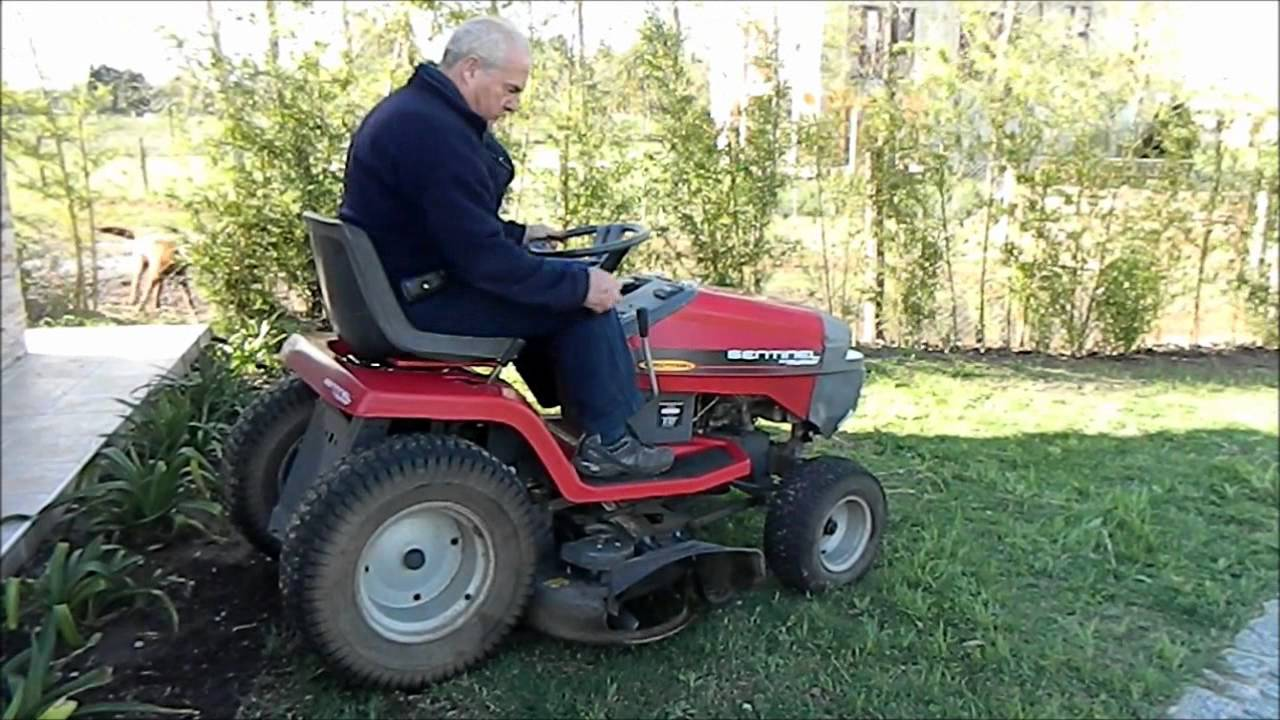 Murray Garden Tractor : Tractor murray youtube