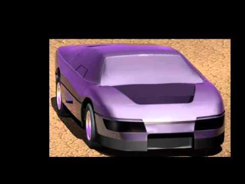 The Wraith turbo interceptor dodge ppg m4s 3d model