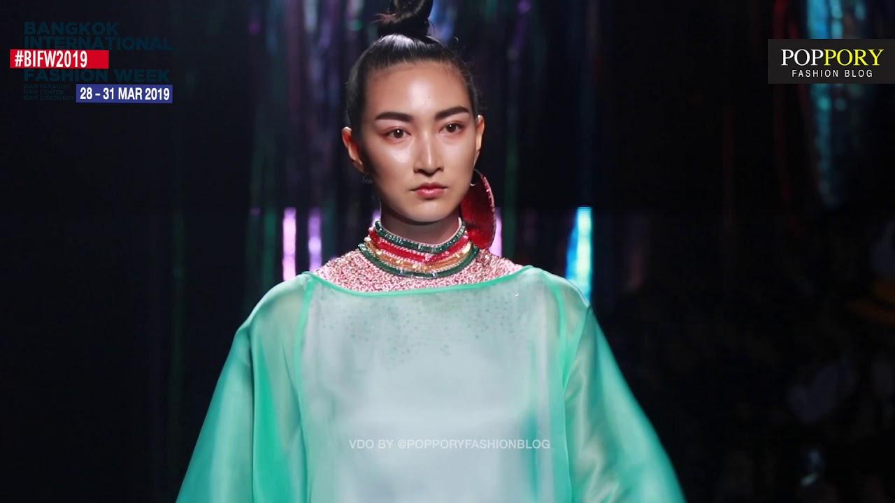 แพนเค้ก เขมนิจ รวมเดินแบบในแฟชั่นโชว์ BIFW 2019   Bangkok International fashion Week 2019