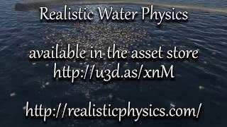 Realistic Water Physics Trailer - with PlayWay Water system