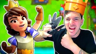 Clash Royale KNIFE THROWING DECK CHALLENGE