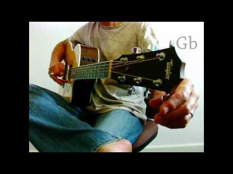 tuning the acoustic - eb ab db gb bb eb