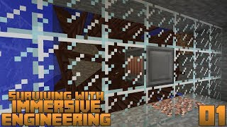 Surviving With Immersive Engineering 1.12 :: E01 - Getting Started & Waterwheel Power Generation