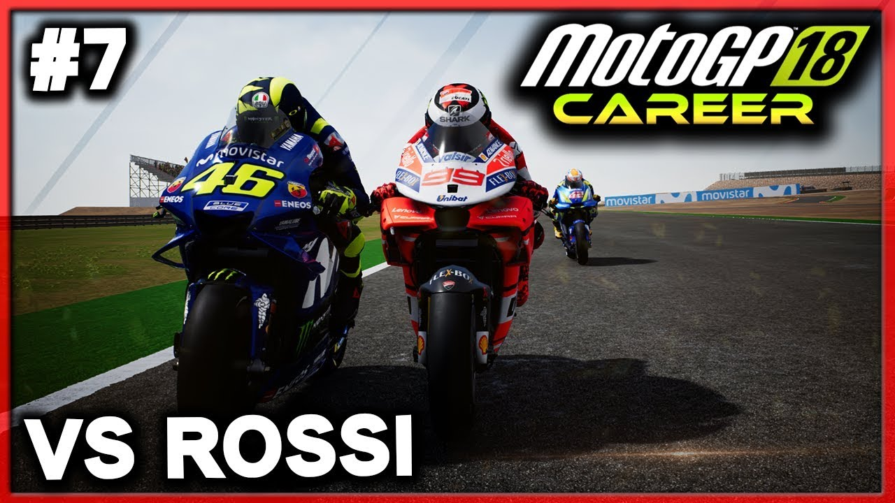 Motogp Lorenzo Career 7 Vs Rossi Motogp 18 Career Mode Motogp