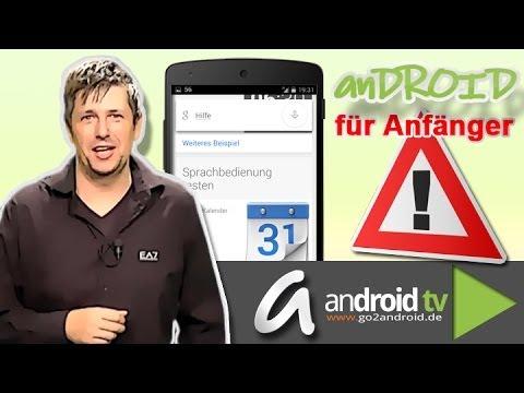 Deutsche Sprachbefehle mit Google now - Android für Anfänger Folge 6 [GER]