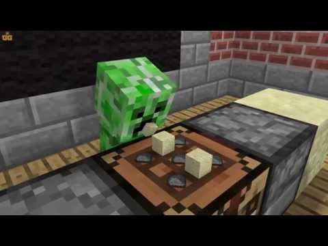Minecraft Мультики - Школа монстров: Готовка (Майнкрафт анимация)