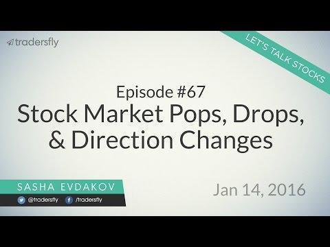 Ep #67: Stock Market Pops, Drops, & Direction Changes