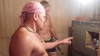 Банная печь.Как правильно делать КАМЕНКУ , чтобы не развалилась часть 1ь