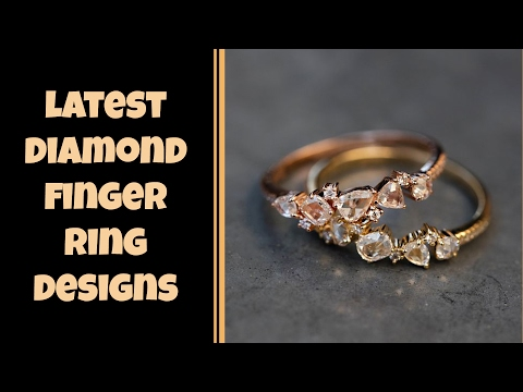 Exclusive Diamond Finger Rings Designs