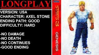 Streets of Rage 3 (Sega Mega Drive / Genesis) - (Longplay - Axel Stone | Hard Difficulty)