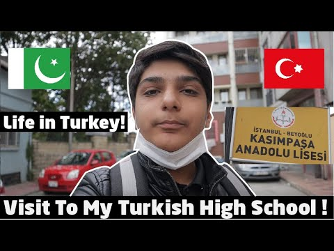 My Daily Life In Istanbul,Turkey! Visit To My School....  Pakistani Living In Turkey! 🇹🇷 🇵🇰