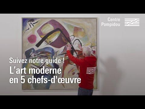 L'art moderne en 5 chefs-d'œuvre | Centre Pompidou