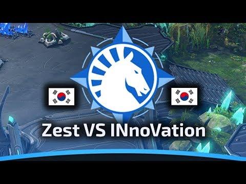 Zest VS INnoVation - PvT - WardiTV Team Liquid Map Contest Tournament 6 - polski komentarz