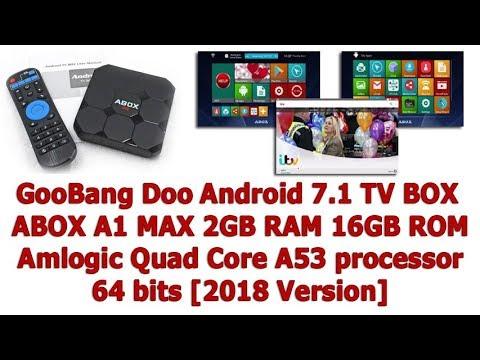 GooBang Doo Android 7.1 TV BOX