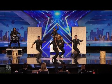 America's Got Talent 2016 Malevo Classic Argentinian Gaucho Act Full Audition Clip S11E02