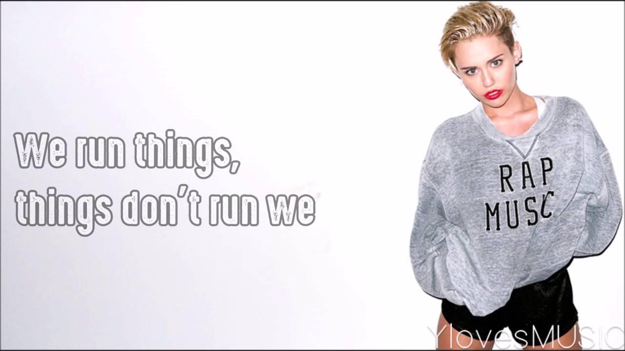 Download Miley Cyrus - We Can't Stop (Lyrics)