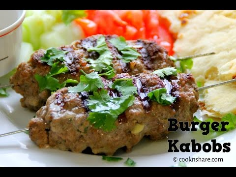 Burger Kebabs