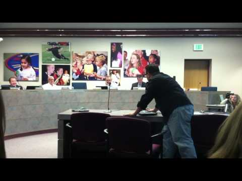 Pimp shows up to Conservative School Board Meeting