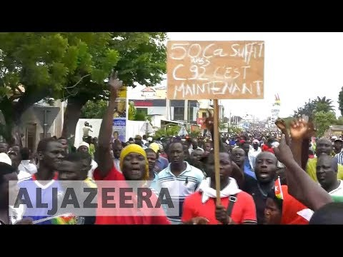 Massive rallies in Togo calling for president to step down