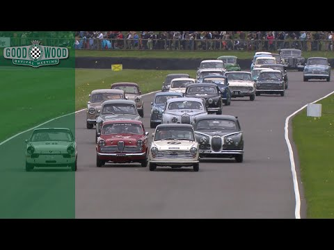 St. Mary's Trophy Part 2 highlights | Goodwood Revival 2017