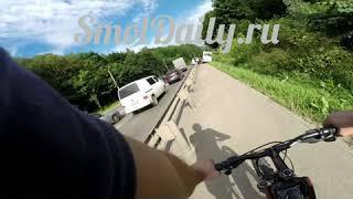 ДТП с маршрутным автобусом в Смоленске 13.07.18