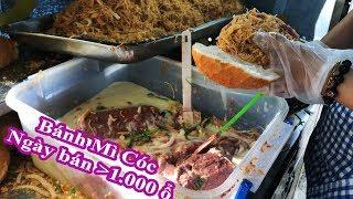 Bánh Mì Cóc CÔ BÍCH Ngon Nức Tiếng, Ngày bán hơn 1.000 ổ - Món ăn ngon chỉ 16k