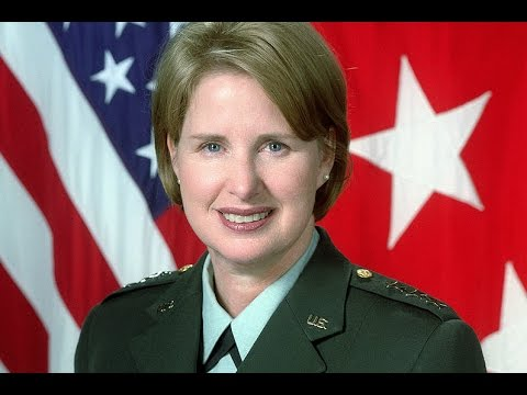 The First Female Three-Star General and the Highest-Ranking Woman Ever in that Branch (2001)