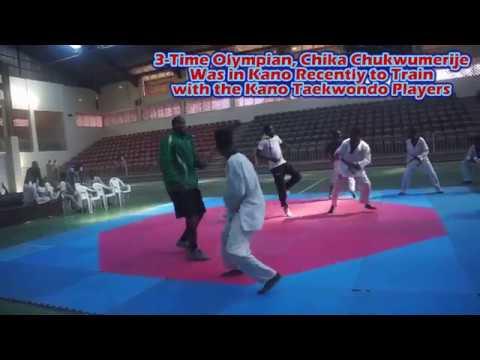 Chukwumerije takes on Kano Taekwondo