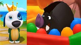 МОЙ ГОВОРЯЩИЙ ХЭНК #117 Говорящий Том и Анджела мультик игра видео для детей