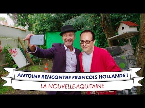 Antoine de Caunes rencontre François Hollande !
