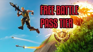 FREE BATTLE PASS TIER | Fortnite Season 4 Battle Pass