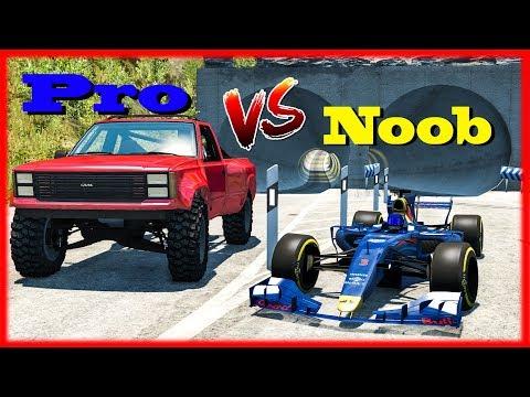 NOOB vs PRO Challenge #6 - BeamNG DRIVE