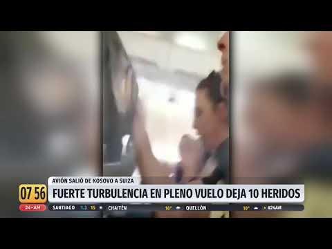 El Gallo Por La Mañana -  Turbulencia en vuelo comercial deja 10 heridos