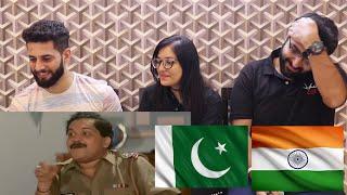 ANDAAZ APNA APNA | Amir khan and Salman Khan Comedy scene | PAKISTAN REACTION