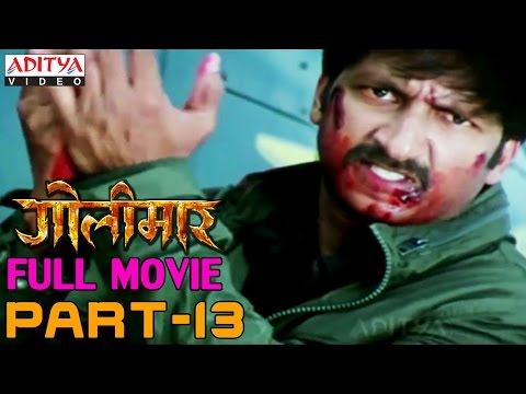 Golimaar Hindi Movie Part 13/13 - Gopichand, Priyamani