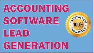 ACCOUNTING SOFTWARE LEAD GENERATION